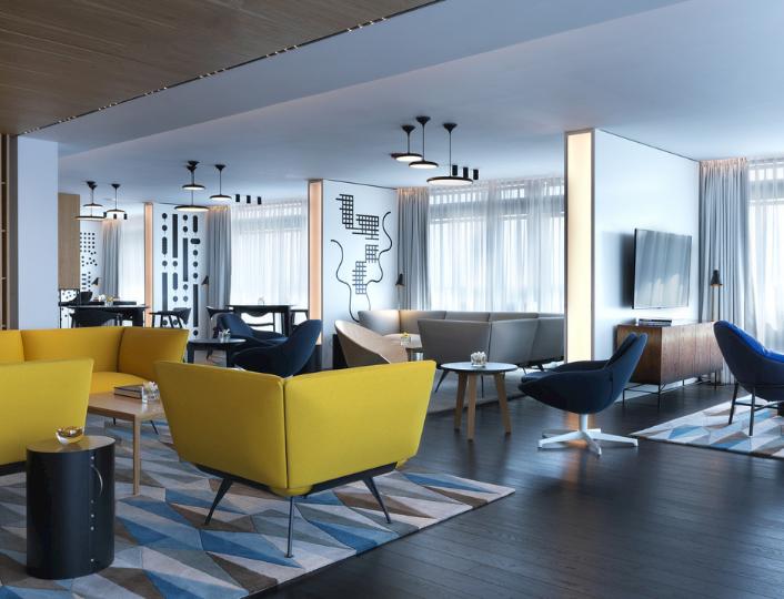 Club Lounge w Renaissance Warsaw Airport Hotel